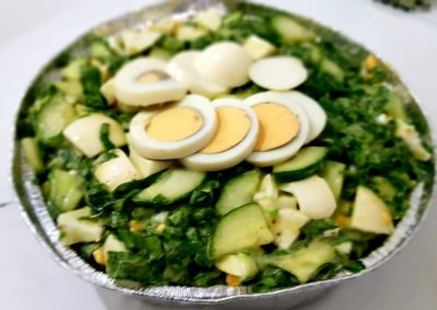 Salata de oua cu castravete si leurda